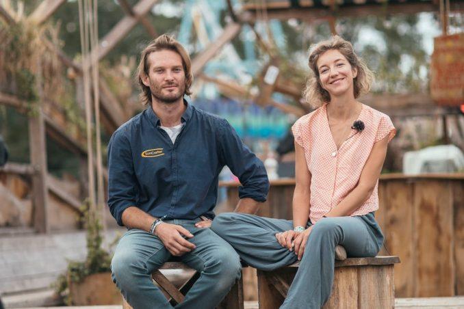 Gründer Lisa und Bryce des Berliner Start-ups Suncrafter