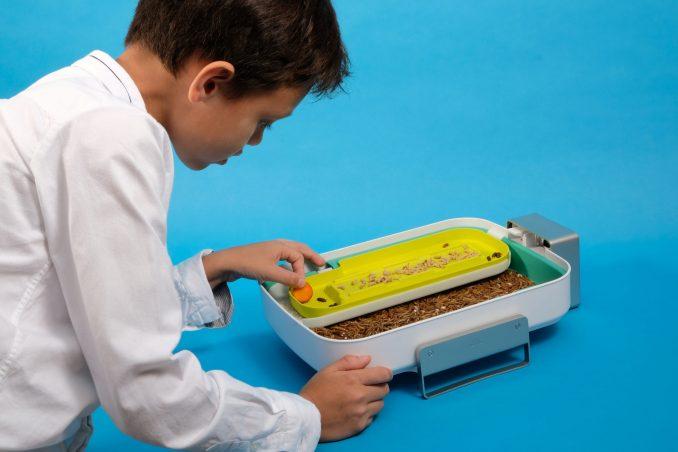 Mehlwürmern, Protein, Insektenzucht,Livin Farms