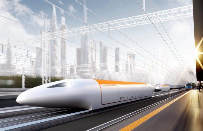 Der Hyperloop Poland erreicht eine Stundengeschwindigkeit von 600 km/h