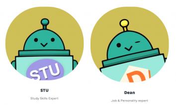 Mit dem Chatbot Helpr können Schüler lernen, wenn sie Lust haben