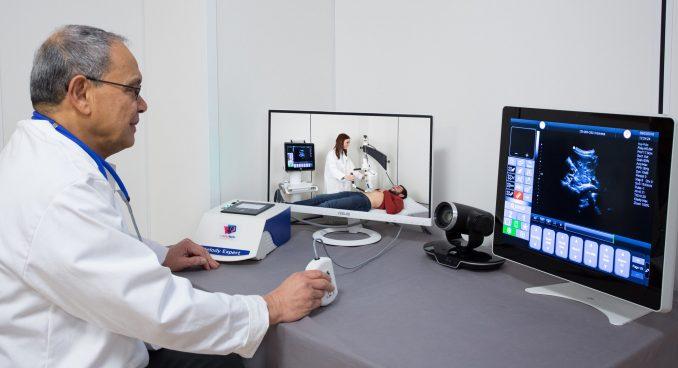 Trotz Corona kann der Patient per Ferndiagnose untersucht werden