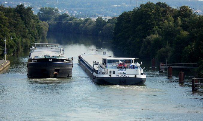 Transportnetz, Binnenschifffahrt,Donau,
