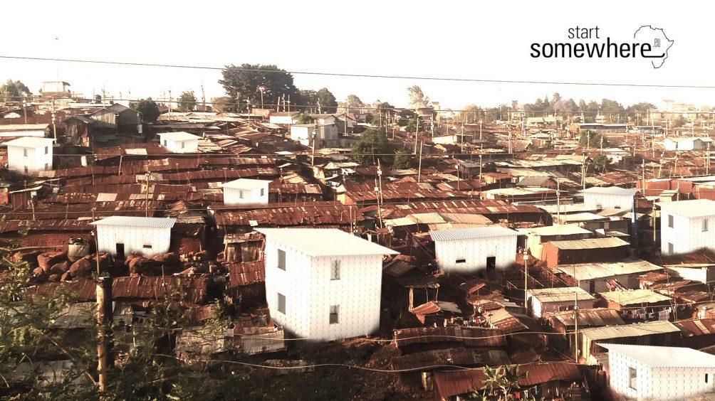 Bausystem, Slum, soziale Archtiktur, gemeinnützig, Kibera, Oliver von Malm