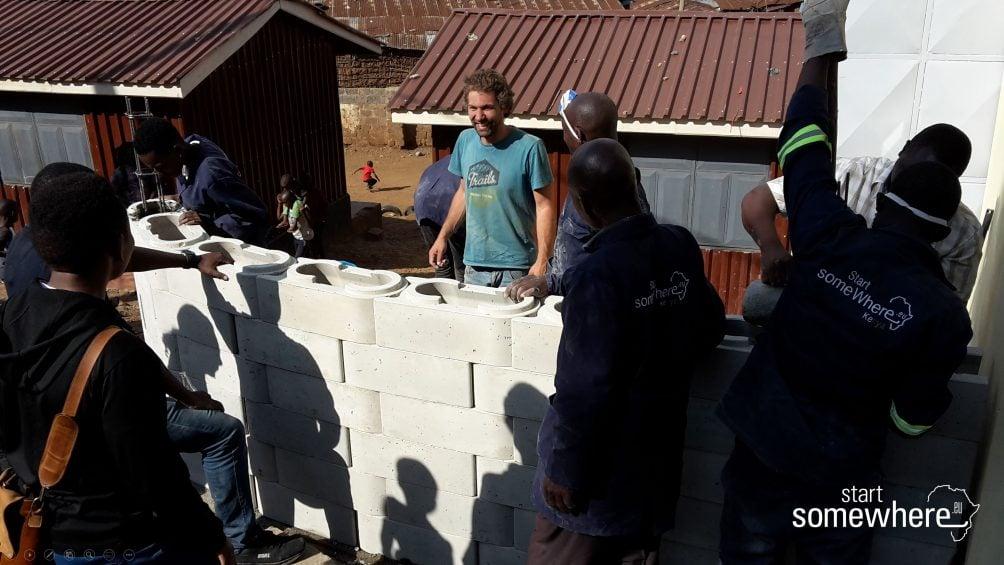 BBausystem, Slums, soziale Architektur, gemeinnützig,Kibera,