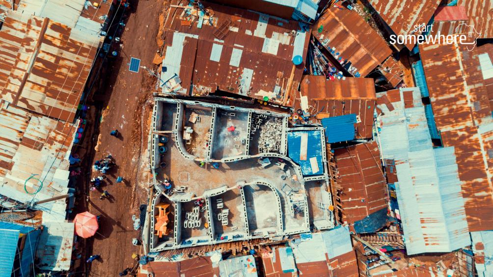Bausystem, Slums, soziale Architektur, gemeinnützig, Kibera