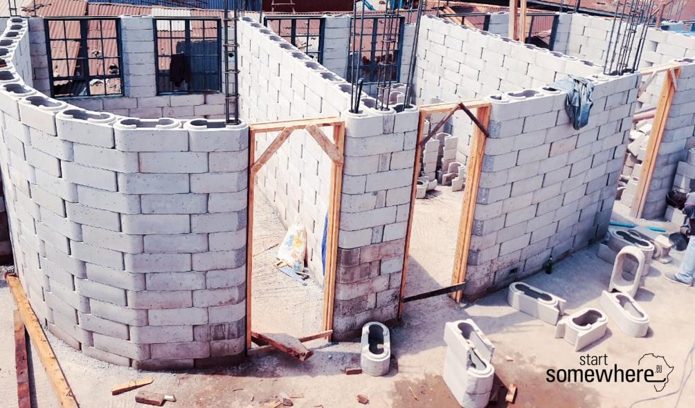 Bausystem, Slum, soziale Architektur, gemeinnützig, Kibera,