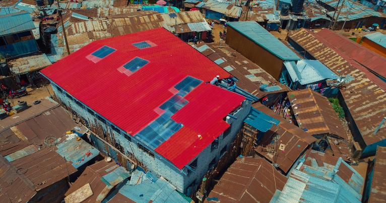 Slums, Architektur, Nairobi, Oliver von Malm