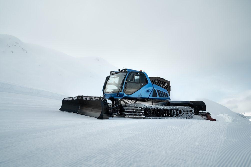 Wereldbeker alpineskiën heeft primeur van sneeuwruimer op waterstof