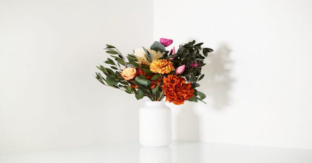 Gestabiliseerde bloemen zorgen voor minder milieudruk