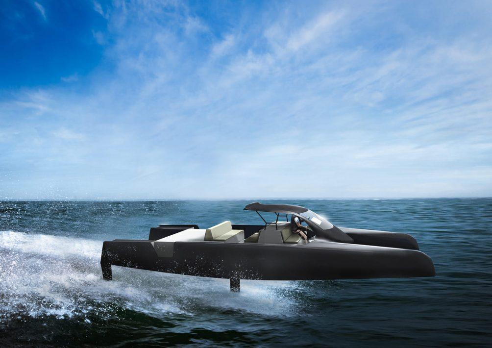 elektrische catamaran