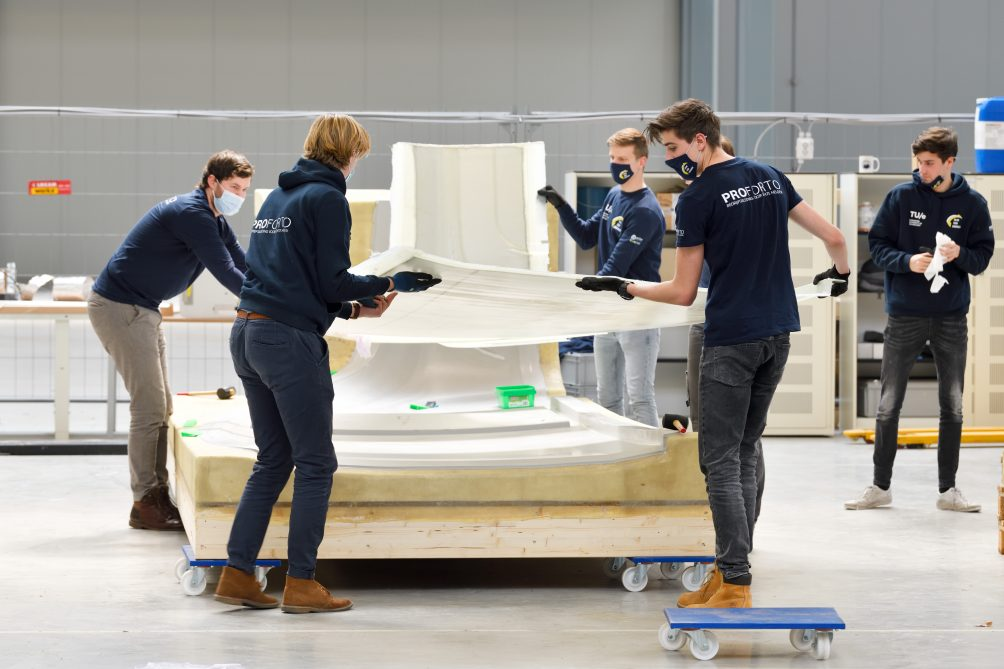 mobiliteit bij Solar Team Eindhoven